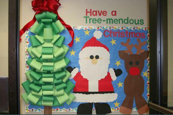 35款圣诞节主题墙布置,圣诞节各种元素全涵盖