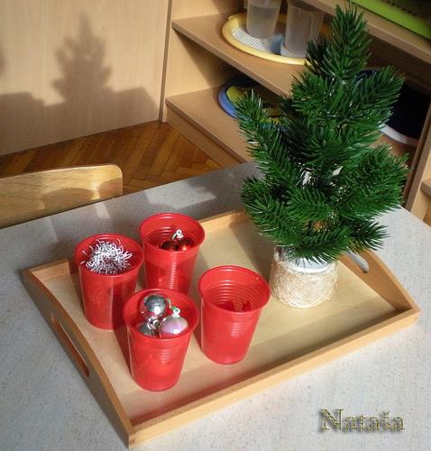 """圣诞节就要有圣诞的""""味道"""",你的区角中有圣诞的""""味道""""嘛!"""