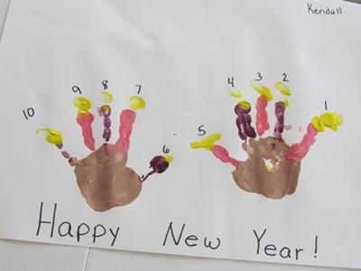 迎接新的一年,你与孩子准备好了嘛!