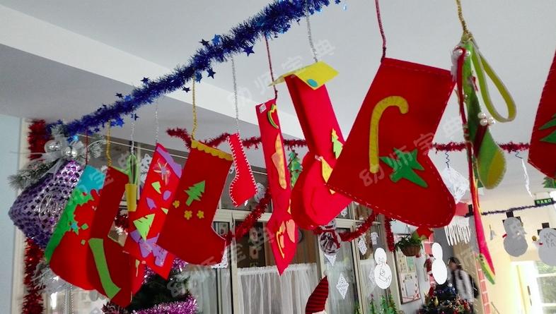 圣诞节环创 | 幼儿园全园场景布置,让你一次看个够!!