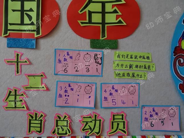 大班新年主题活动及主题墙创设