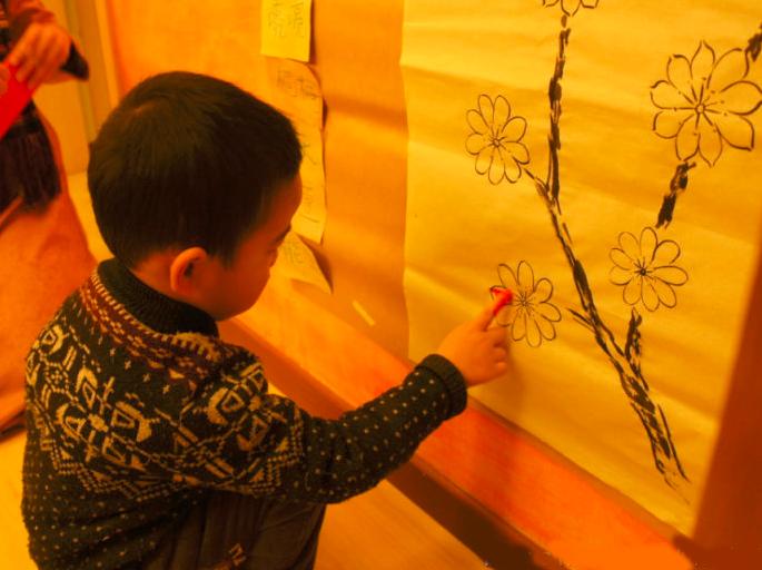 冬至教案 | 冬至來了,讓我們一起帶著孩子畫一畫九九消寒圖