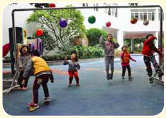 户外混龄区域活动内容的设置 | 跳跃游戏区的目标及游戏
