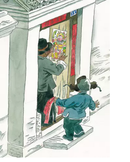 春节绘本系列 | 《北京的春节》,过原汁原味中国年