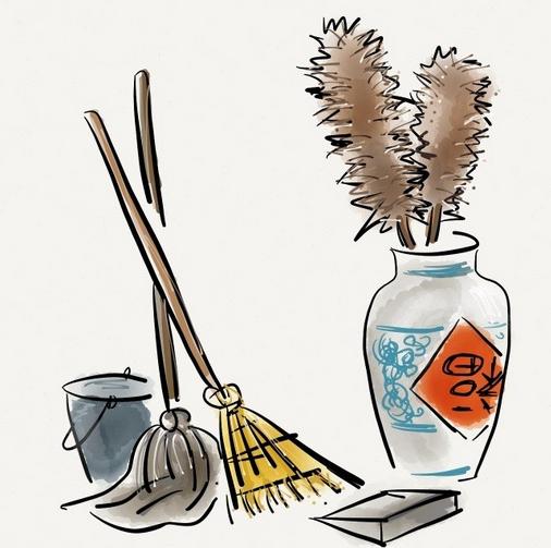年俗 | 腊月二十四,掸尘扫房子