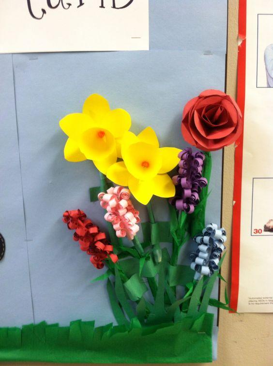 主题墙 | 小小一面墙,记满春天的样子