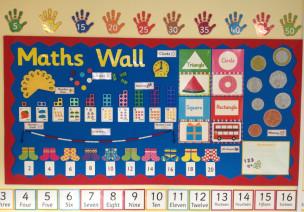 主题墙|来一面数学互动墙吧,新学期更容易上手!