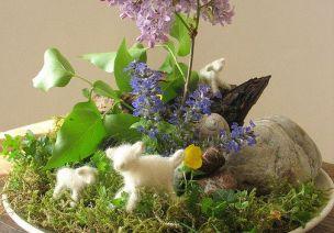 华德福季节桌|你的教室有个神圣的角落,让春天变成欢乐的节日!