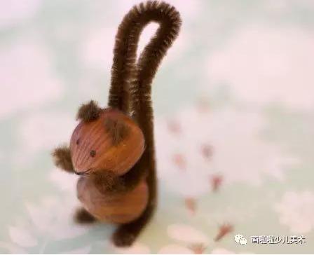 新年最有创意的坚果手工,总有一个让孩子喜笑颜开!