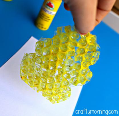 气泡膜的废旧利用   能剪能画能做手工,这么万能的材料别说你扔了
