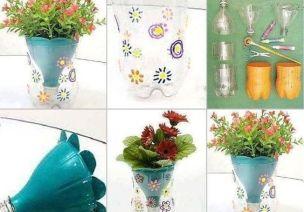 塑料瓶的废旧利用 | 100种塑料瓶变花盆的方法,这样改造多少钱都不卖
