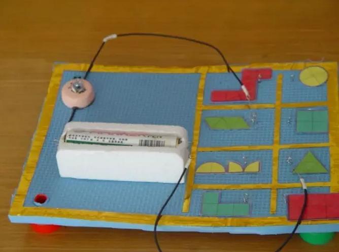 科學區 | 小中大班自制玩教具