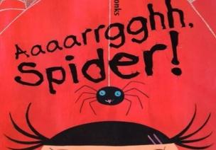 大班語言活動 | 繪本《啊!蜘蛛》