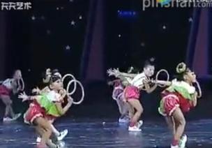 儿童节舞蹈|中班情景器械舞《圈圈乐》