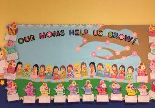环创 | 多款母亲节主题墙、门窗饰,让孩子们尽情表达对妈妈的爱!