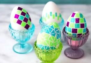 复活节   小中大班彩蛋制作全齐了,简单实用效果好!