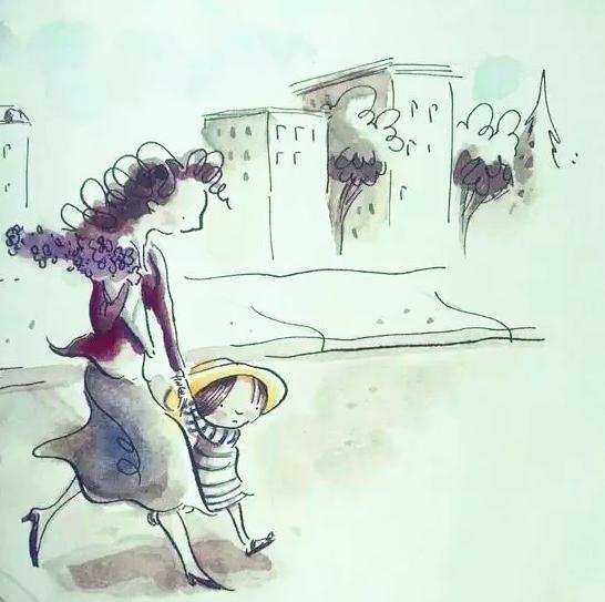 母亲节温情绘本分享《有一天》