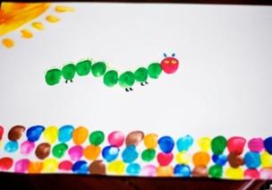 中班艺术领域美术活动《我设计的毛毛虫》(含区角延伸活动)