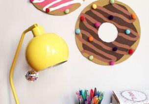 甜甜圈主题环创   适合小班、中班,让教室充满甜蜜的味道~