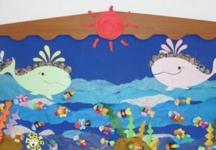墙面环创 | 夏季主题墙,快来get属于你们班的那一抹清凉