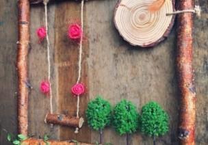自然物吊饰 | 树枝+麻绳,宜家风格好伴侣
