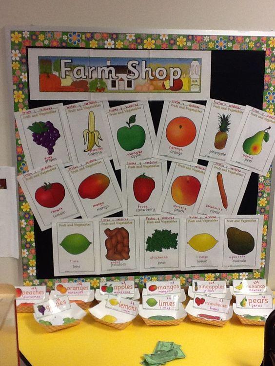 水果主题教室 | 多款墙饰、吊挂饰,香甜水果伴你开学