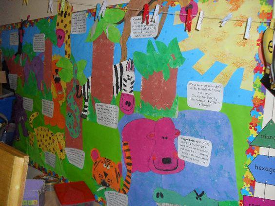 热带动物主题环创 | 一起去热带神秘国度探险,结识无数动物朋友!