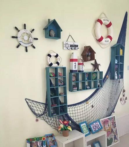 海洋风主题环创   全屋环创灵感,让你的班级环境焕然一新!
