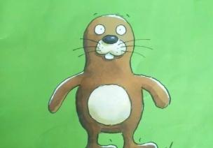 大班绘本教案《没有耳朵的兔子》
