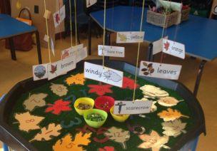 秋季环创 | 全屋装饰还有季节桌,带孩子们度过一个难忘的秋天