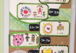 环创 | 幼儿园一日生活流程图,可以这样做