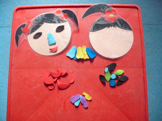生活区   小中大班自制玩教具
