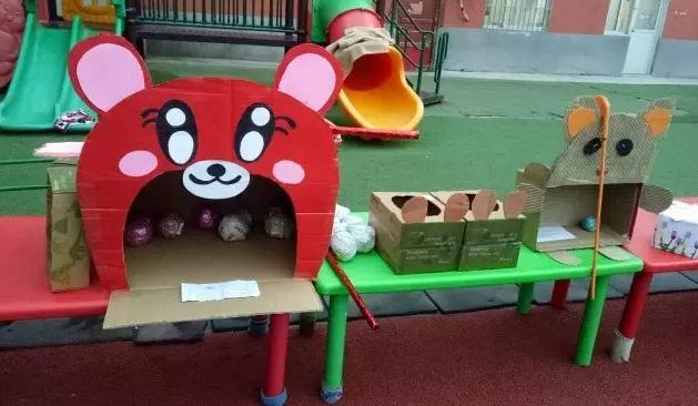 户外 | 户外体能区小中大班自制玩教具
