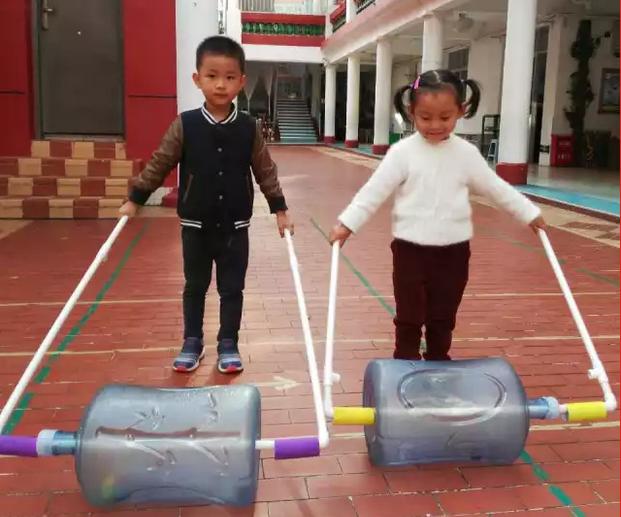 自制单杠_户外 | 户外体能区小中大班自制玩教具-幼师宝典官网
