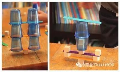 区角材料 | 花高价买的高大上建构玩具,其实一捆雪糕棍就能玩