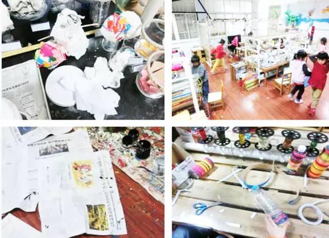 区域活动 | 美术活动室里除了画画还能做什么?