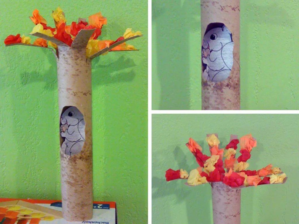 秋季美工 | 绝对新颖的绘画和手工,见证一棵落叶树的奇迹!