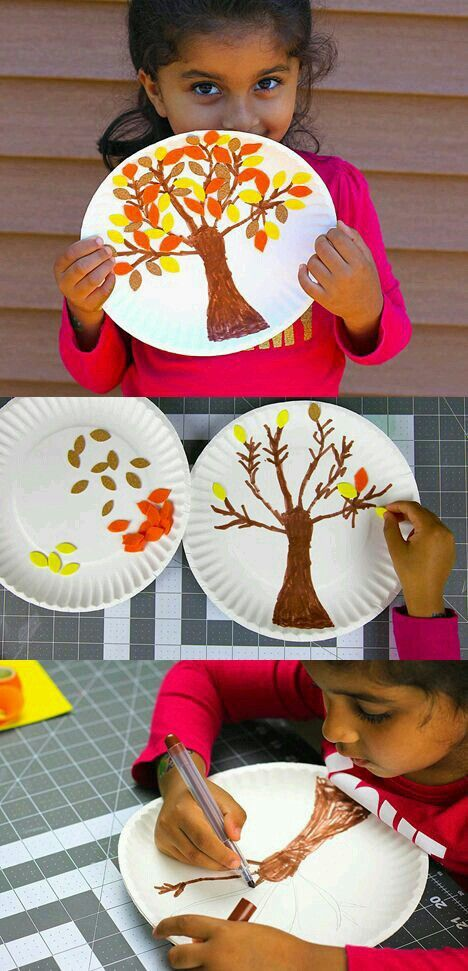 Autumn Themed Crafts Preschool