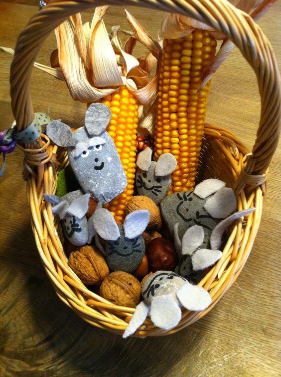 秋季手工 | 用自然物做手工,满满都是收获感,而且敲可爱!