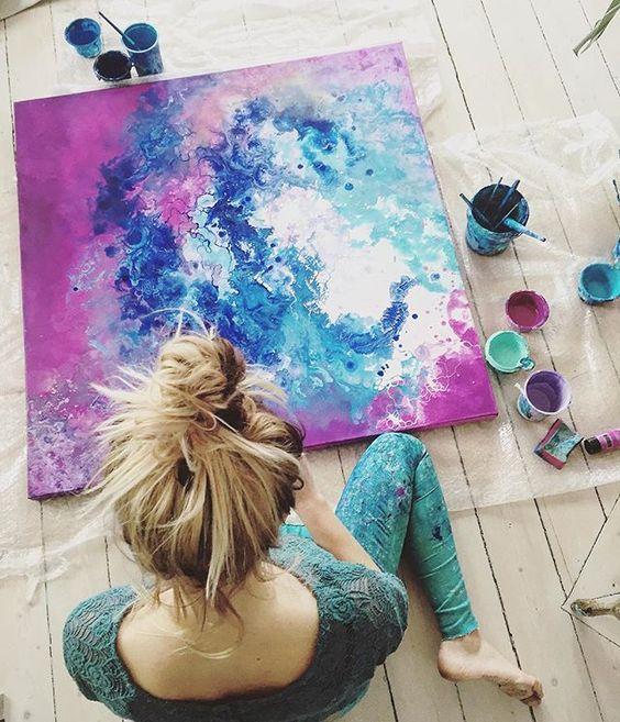 绘画 | 记住自己的洒脱,记住自己的无畏,记住自己的孩子气