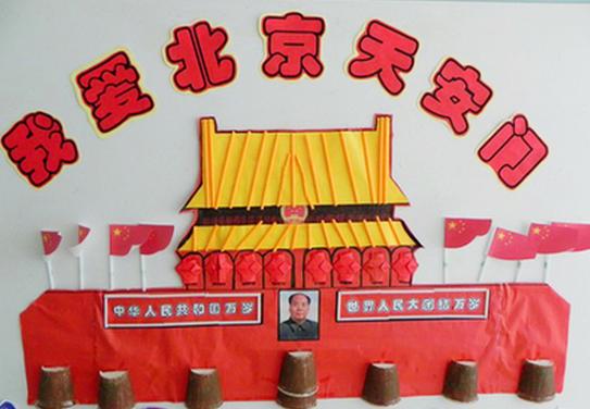国庆节活动 | 大班语言领域活动《我爱北京》