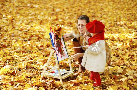 中班主题活动 | 美丽的秋天
