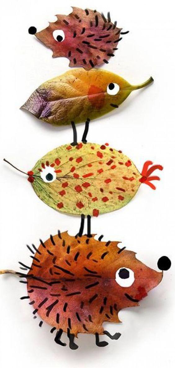美工 | 令人心动的落叶艺术,珍藏初冬里的秋季回忆