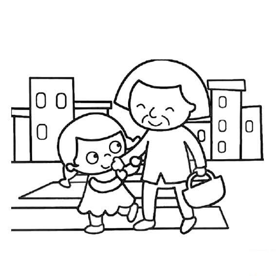节日素材 | 重阳节儿歌大全,简笔画参考