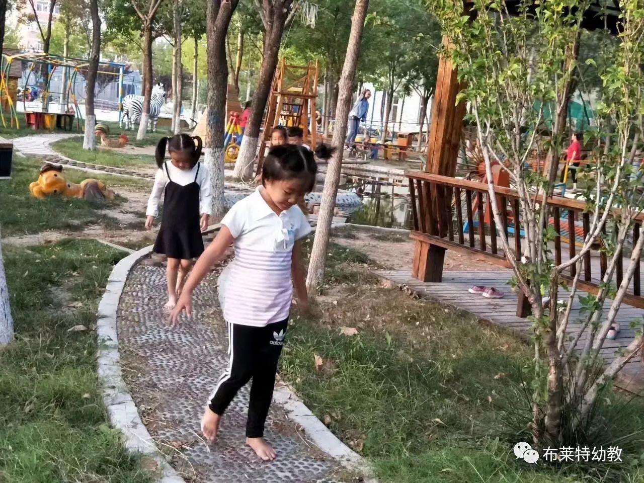 名园 | 利津二幼多材质道路:感官教育与裸足保育的创意结合