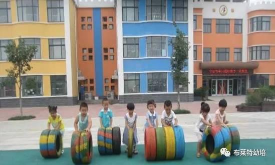 名园环创 | 利津二幼:旧轮胎玩出新花样,百变游戏大量实图