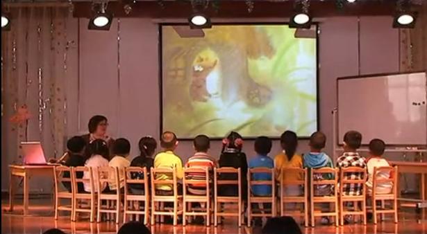 优秀公开课视频|中班综合活动《下雨了》