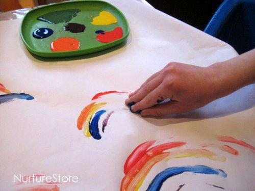 绘画 | 手抓饼你知道,手抓画你知道吗?
