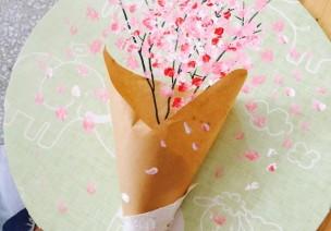 感恩节手工   这样的手捧花束,简单易做高大上,完美~