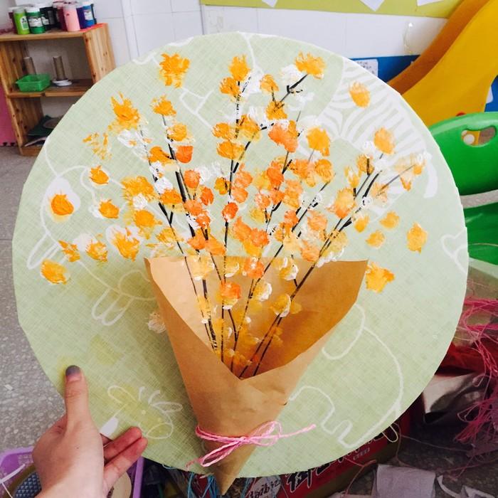 感恩节手工 | 这样的手捧花束,简单易做高大上,完美~